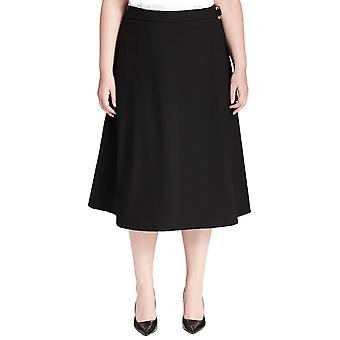 Calvin Klein | Plus Size Belted A-Line Skirt