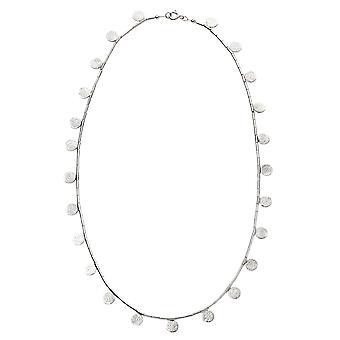 Multi-Disc und Bugle Perle Halskette