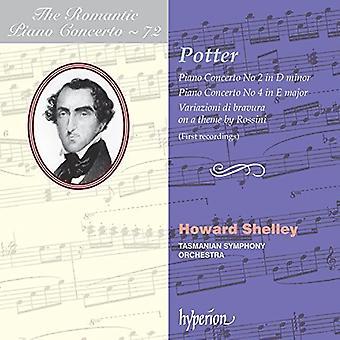 Howard Shelley - Romantic Piano Concerto 72 [CD] USA import