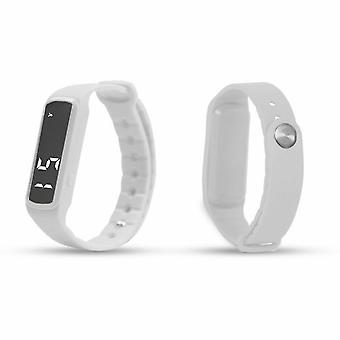 Aquarius AQ 114 Teen Fitness Activity 3D Pedometer LED Tracker White