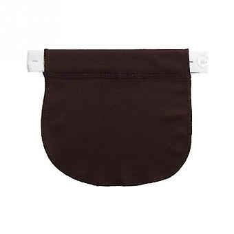 Maternity Waistband Elastic Extender Soft Pants-belt Extension Buckle/button