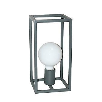 Industrie und Retro Tischleuchte Grau 1 Licht, E27