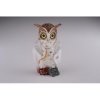 Owl Doctor Trinket Box
