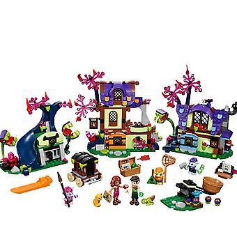 Elves Dragon Sanctuary-girl Friends Building Bricks Blocks