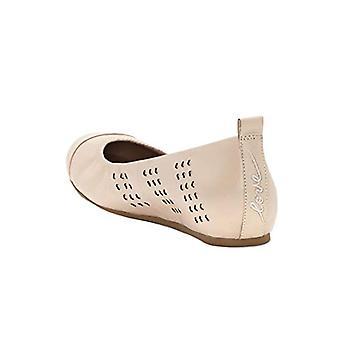 ED Ellen DeGeneres Womens ED-LARRA Leather Round Toe Slide Flats
