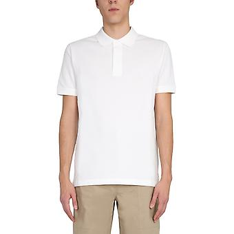 Bottega Veneta 649058v01g09068 Mænd's Hvid Bomuld Polo Shirt