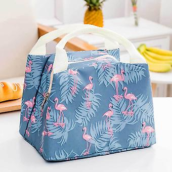 Portable Insulated Thermal Cooler, Bento Lunch Box & Tote Picnic, Storage Bag