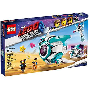 LEGO 70830 Sweet Chaos ' Systar spaceship
