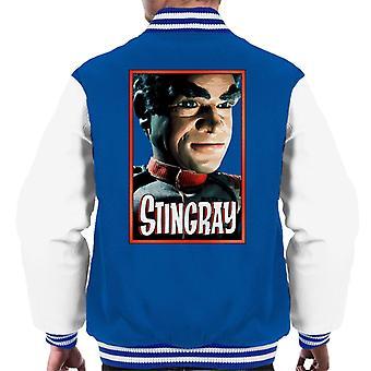 Stingray Commander Sam Shore Portrait Men's Varsity Jacket