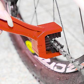 غسيل السيارات، دراجة نارية صيانة سلسلة معدات الدراجات، تنظيف فرشاة الأوساخ النظيفة
