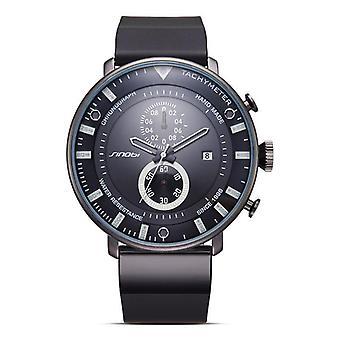 SINOBI 9689 Fashion Men Watch Luxury Multi-function Chronograph Military Quartz