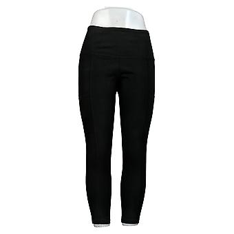 Vrouwen met Control Women's Petite Tummy Control Leggings Zwart A372910