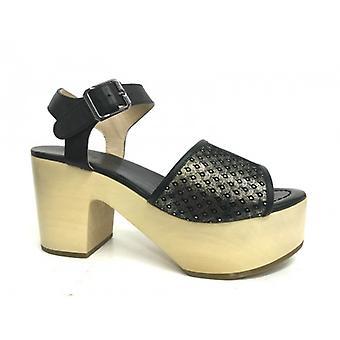 Shoes Woman Logan Peacock Sandalwood Tc 80 Plateau 40 Ds16lo03