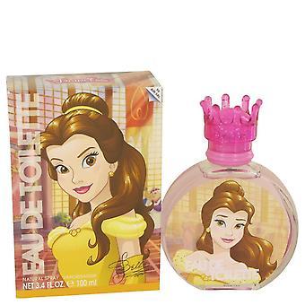Disney Princess Belle Eau De Toilette Spray By Disney 3.4 oz Eau De Toilette Spray