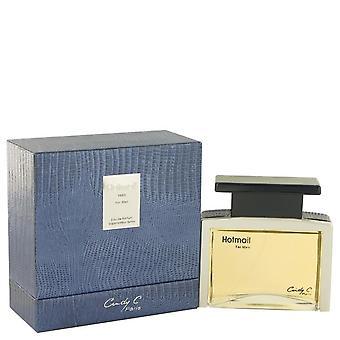 Hotmail Eau De Parfum Spray By Cindy C. 3.3 oz Eau De Parfum Spray
