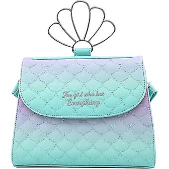 The Little Mermaid Ombre Scales Shell Crossbody