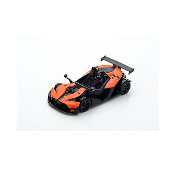 KTM X-Bow RR Facelift (2017) in Black and Orange (1:43 scale by Spark S5662)