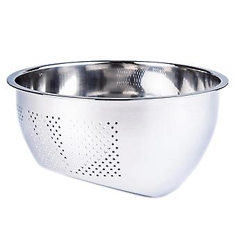 Stainless Steel Kitchen Appliances Rice Washing Rice Washing Basin Deepened Thick Sieve Wash Rice Basket Drain Basin Vegetables Basin Factory Direct