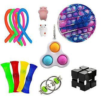 Anti Anxiety Fidget Pack, Sensory Toys Set For Kids Teens Adults Autism