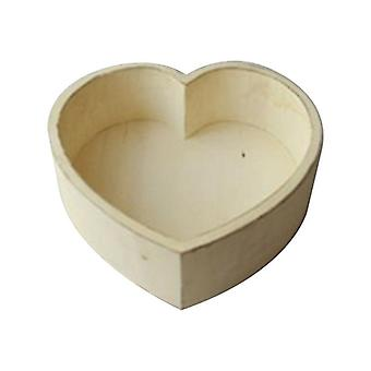 Baby Photography Rekvisitter Vintage Wooden Basin Full Moon Heart-formet Box Shooting