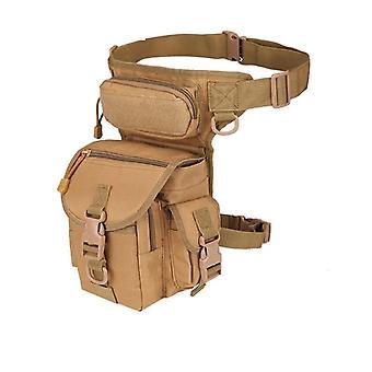 Waterproof Drop Pouch, Waist Pack, Weapons Tactics, Outdoor Sport, Ride Leg Bag