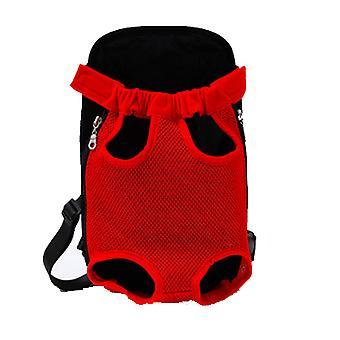 Udendørs bærbar kæledyr taske, åndbar Mesh rygsæk til katte og hunde