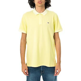 Polo homme tommy jeans tjm vêtement colorant polo dm0dm10586.lt3