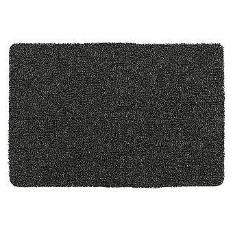 bañar estera Loop 40 x 60 cm pvc negro