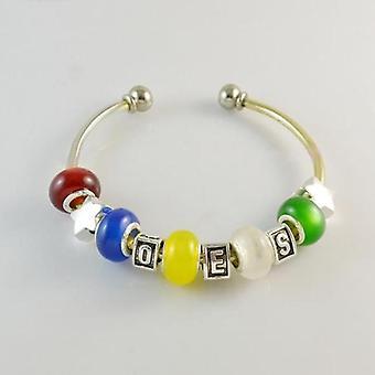 Order of eastern star oes charms bracelet