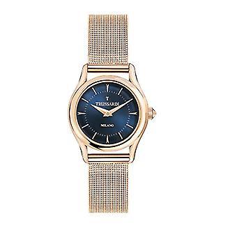 TRUSSARDI Reloj Analógico Cuarzo Mujer con Correa de Acero Inoxidable R2453127502