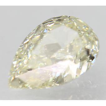 معتمد 0.75 قيراط J لون VVS1 الكمثرى الماس فضفاضة الطبيعية للحلقة 7.65x4.95m