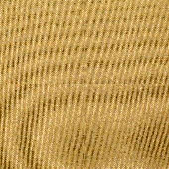 vidaXL Bank mit Staufach 116 cm Gelb Polyester