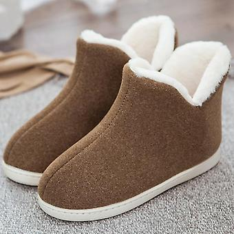 Unisex Home Boots, Cotton Warm Women's Winter Boots
