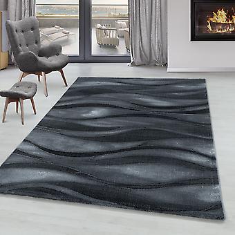 Stue Tæppe RICA Kort bunke blød Flor Abstrakt Aksel Design