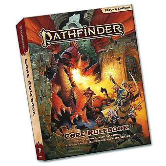 Pathfinder Core Rulebook Pocket Edition (P2) par Stephen Radney MacFarland, Jason Bulmahn, Mark Seifter, Logan Bonner (Broché, 2021)