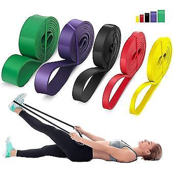 neue schwarze 60lb Widerstand Latex Gummi elastische Bänder natürliche Expander stärken Training sm16508