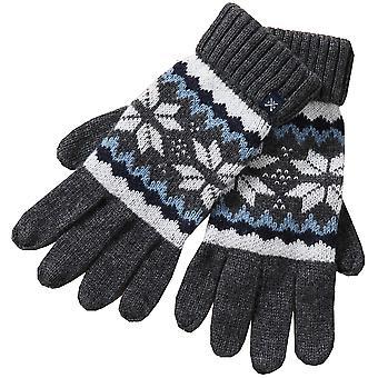 Crew Clothing Womens Fairisle Winter Warm Gloves