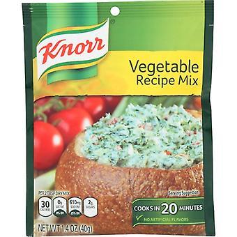 Knorr Mix Recipe Vegtbl, Case of 12 X 1.4 Oz