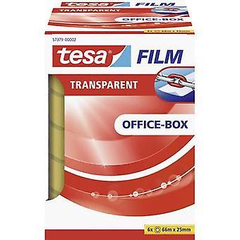tesa 57379-00002-00 Tesa film tesafilm® Transparant (L x B) 66 m x 25 mm 6 st