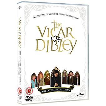 The Vicar of Dibley Ultimate Collection DVD (2012) Dawn Französisch Zertifikat 12 6 Discs Region 2