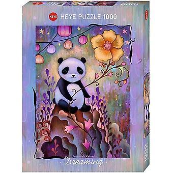 Heye Dreaming Panda Naps Jigsaw Puzzle (1000 Pieces)