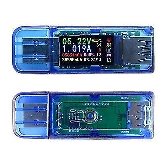 AT34 USB3.0 Couleur LCD Affichage Tension Courant Mètre Multifonctionnel TESTEUR USB