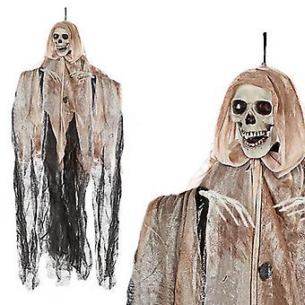 Skeleton pendant (90 cm) Brown