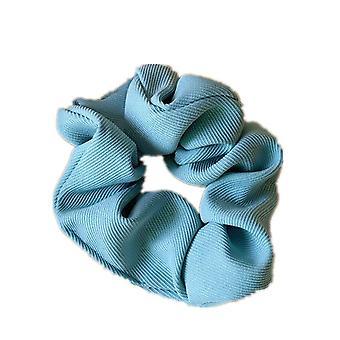 10PCS Vintage Scrunchie Femei Solid Color Elastic Hair Bands Elegant Scrunchies Girls Hair Ties Hair