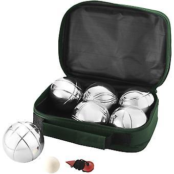 Bullet Henri 6-Ball Petanque Set