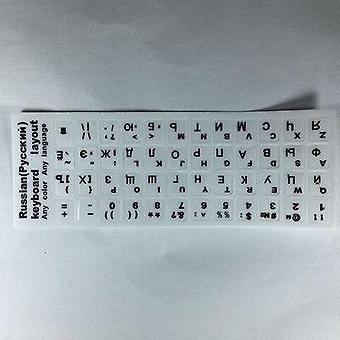 """2Pcs toetsenbordstickers voor laptop pc toetsenbord 10 """" tot 17 """" computer standaard letter"""