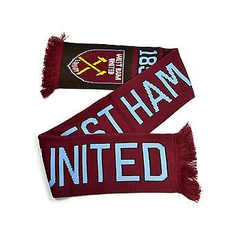 West Ham United FC Nero huivi