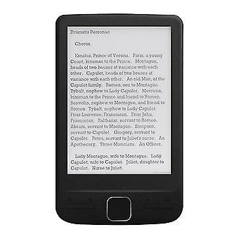 Alloyseed bk4304 ebook ultra mince ereader 4,3 pouces oed e-ink écran e-book reader numérique