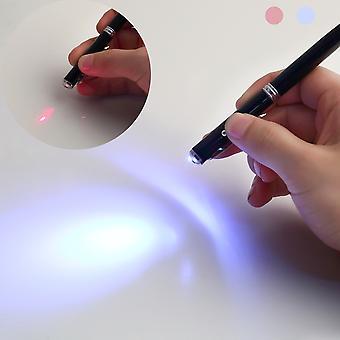 4in1 Led Laser Pointer Fackel Touchscreen Stylus Kugelschreiber für Handys