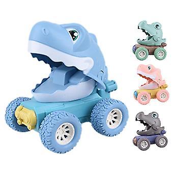Child Pressed Inertial Sliding Owl, Crocodile Toy Backbox